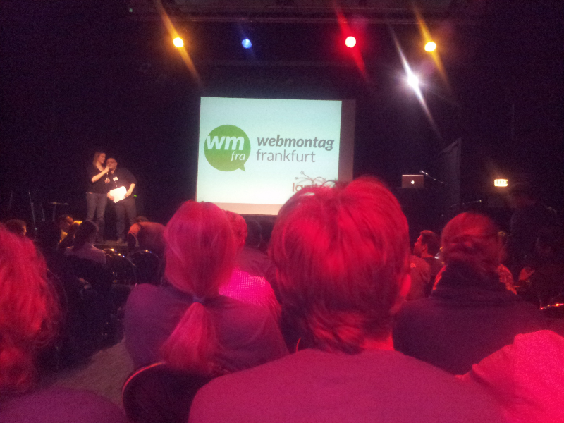 webmontag frankfurt #wmfra 47 im ignite format