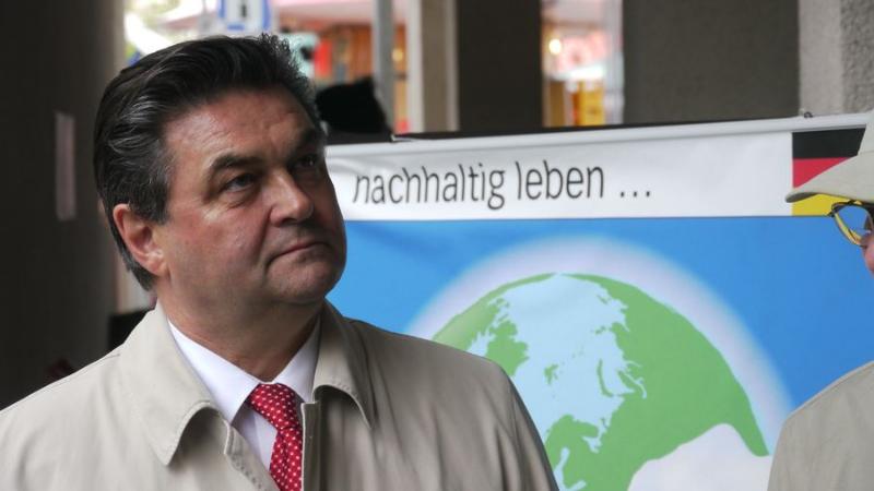 Oberbürgermeister Klaus Herzog: nachhaltig leben ...