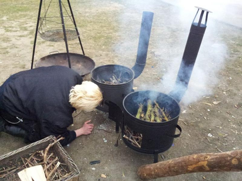 Echtes Feuer für echtes Gemüse!