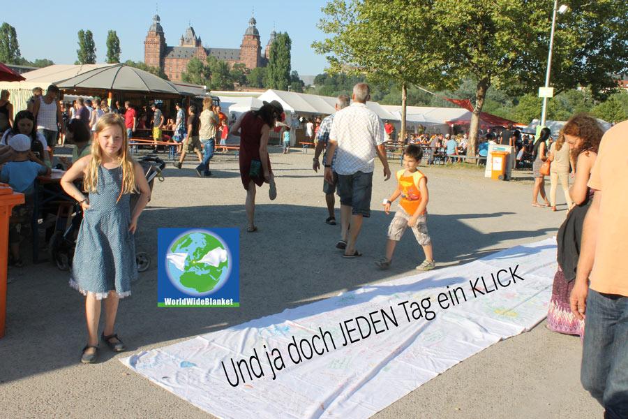 Jeden Tag 1 Klick fürs WorldWideBlanket