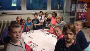 Die Drachenklasse 3a der Carl-Orff Grundschule, Hürth