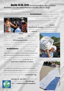 14.06.2015 BERLIN Umweltfestival